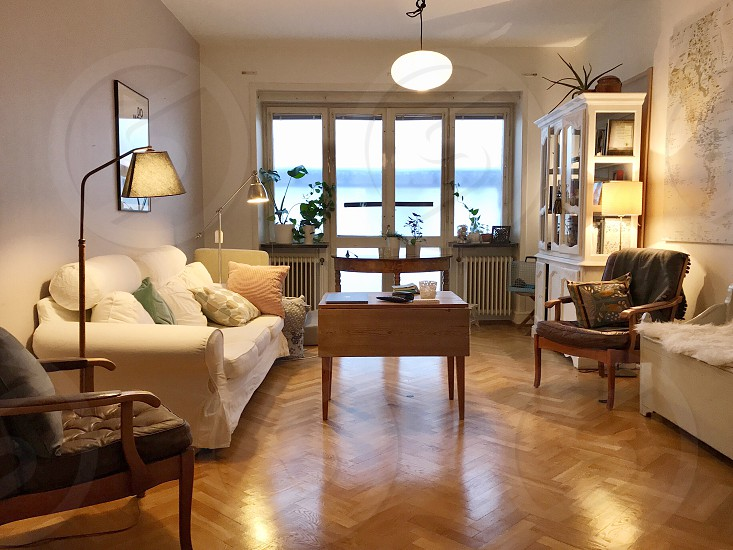 Rental life apartment  room furnitures  interior photo
