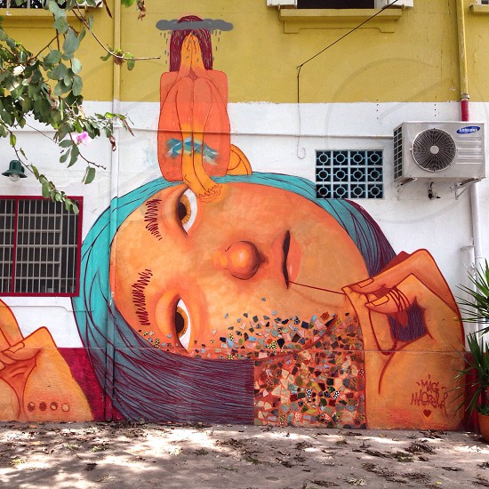 Street art from Brazil photo