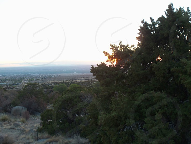Albuquerque NM Sunset photo