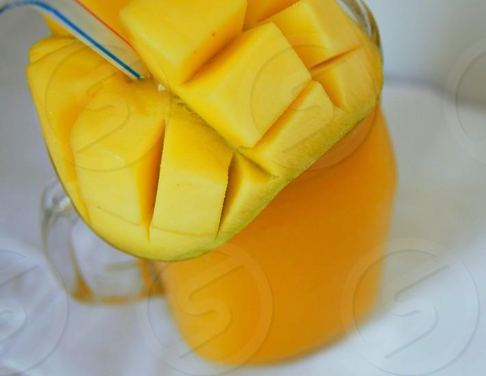 mango milkshake photo