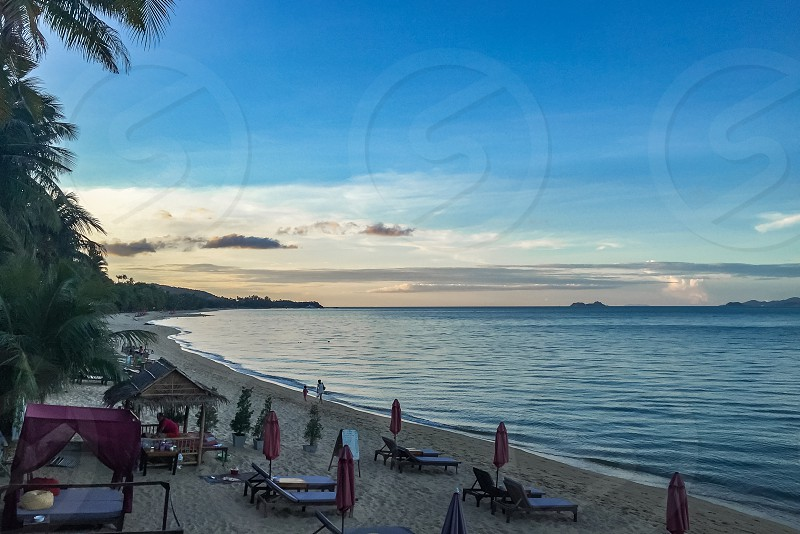 Chaweng Beach - Surat ThaniThailand photo