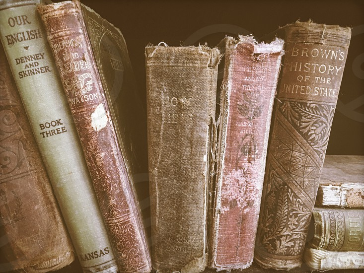 Vintage books  photo