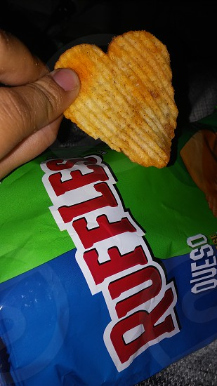 Ruffles Queso HeartChip photo