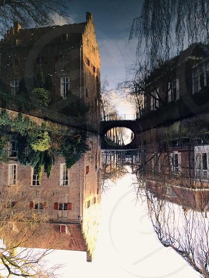 brick bridge  photo