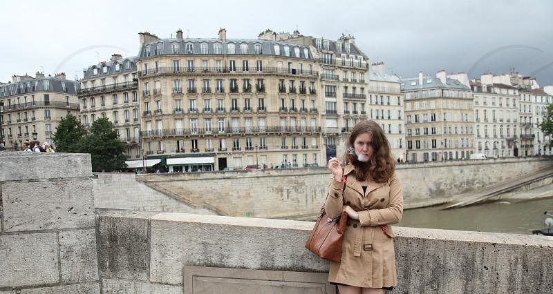 the Seine in Paris photo