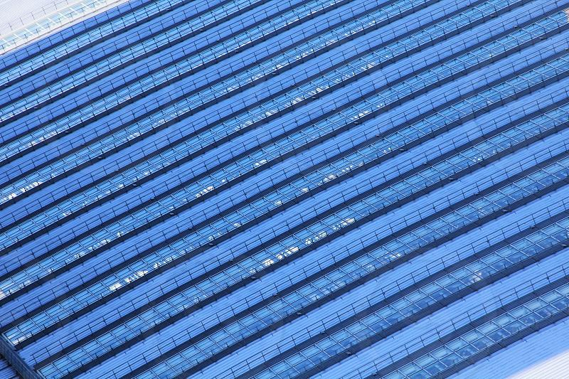 青い屋根 photo