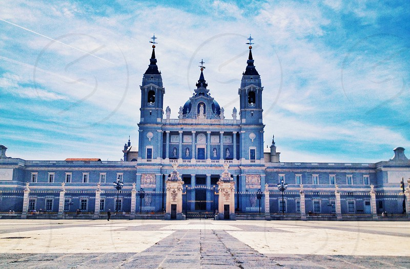 Palace in Madrid Spain photo