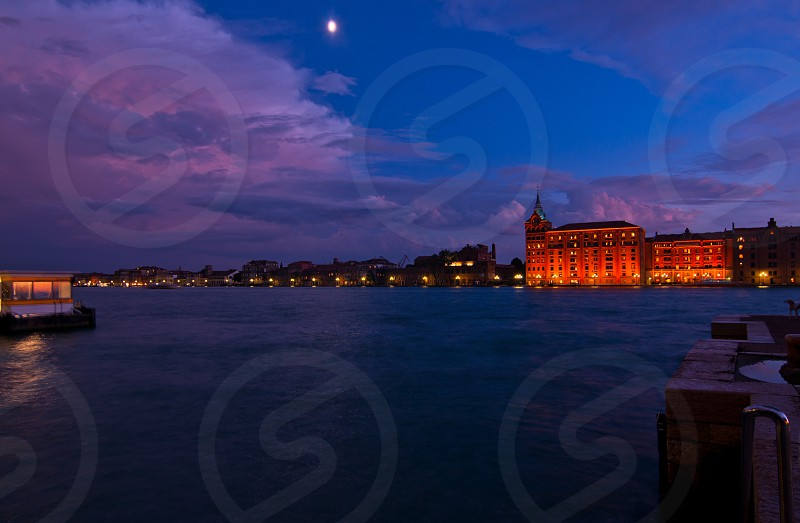 Venice Italy molino Stucky recently transformed in a five star hotel photo