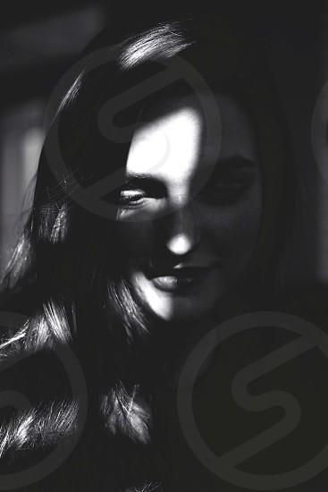 Self Portrait - Black and White photo