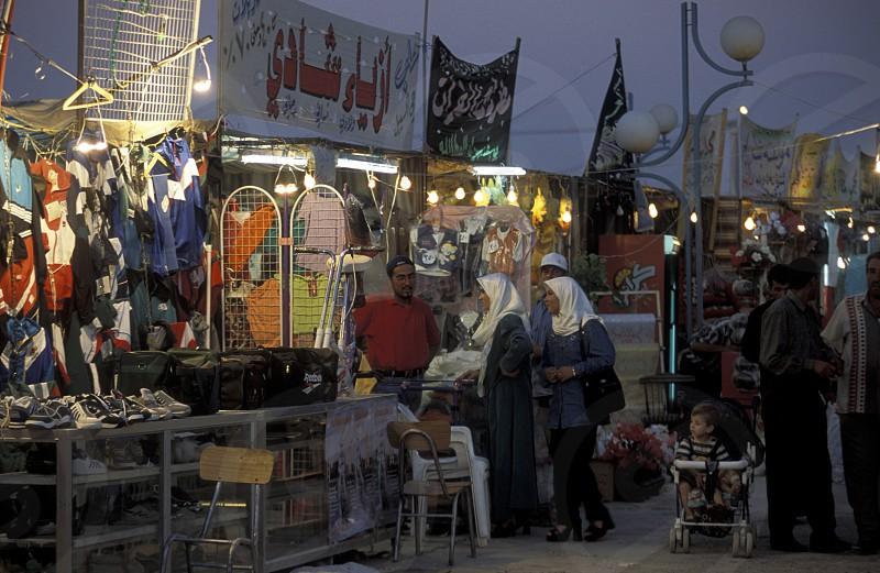 Der Markt in Deir ez Zur an der Grenze zu Irak im Osten von Syrien. photo