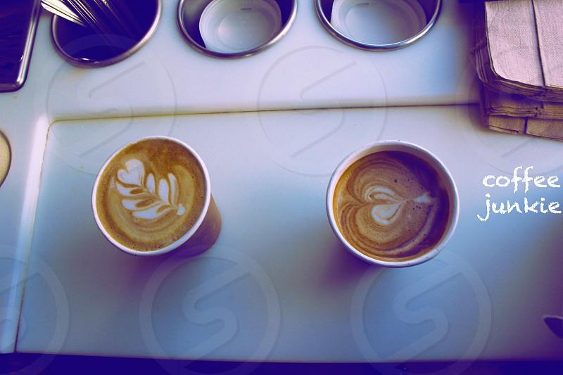 coffee junkie photo