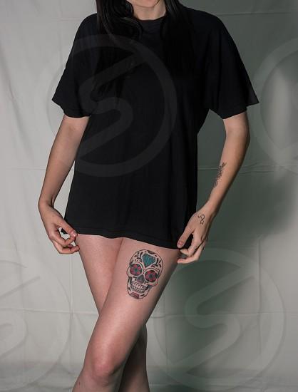 legs portrait photo