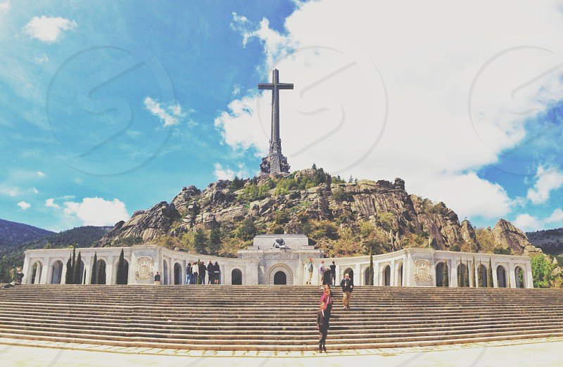 The biggest cross in the world - Madrid Spain photo