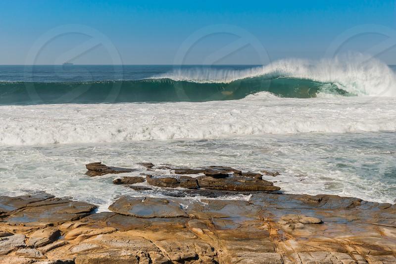 Beautiful coastline of Kwazulu Natal South Africa photo