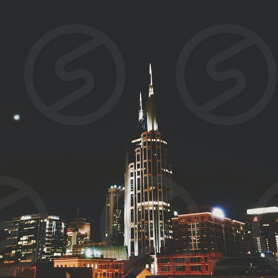 building night view  photo