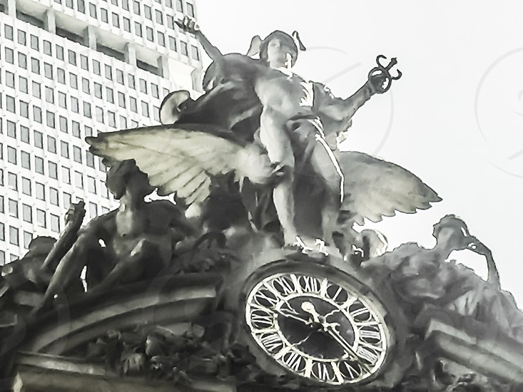 Grand Central Station New York clock and stretch photo