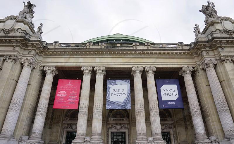 The Grand Palais museum in Paris France photo