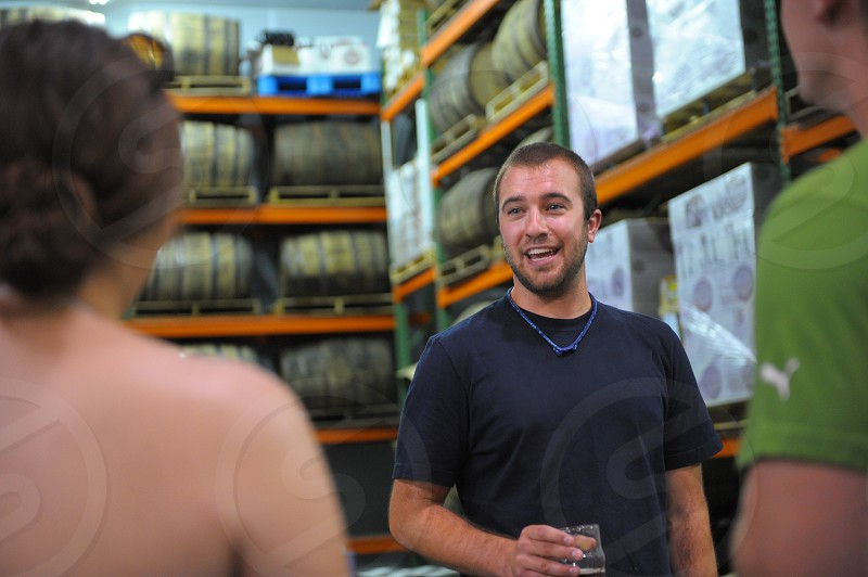 taking a craft brewery tour photo