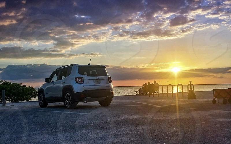 Jeep Travel Family Vacation USA Florida Punta Gorda Beach  photo