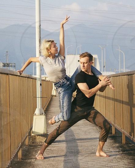 Dance couple photo