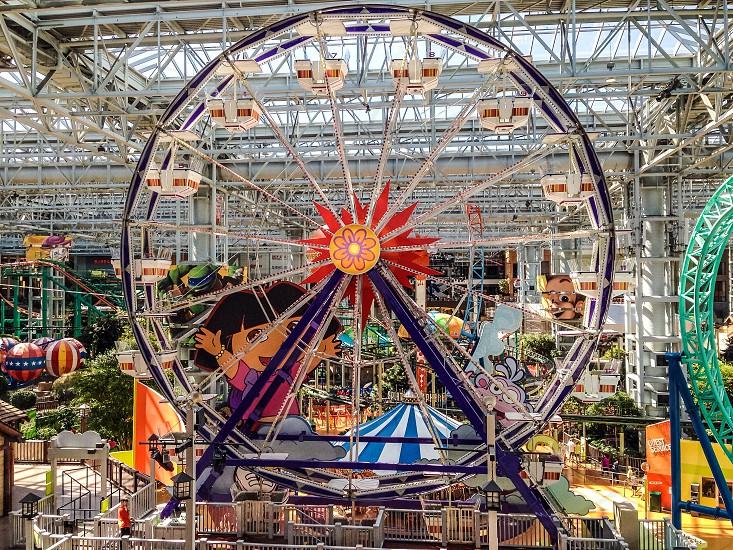 indoor dora the explorer ferris wheel photo
