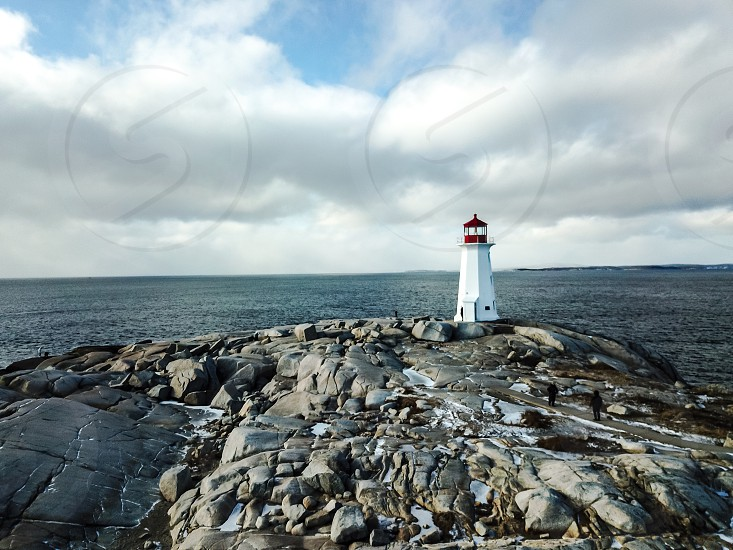 Peggy's Cove light house Nova Scotia photo