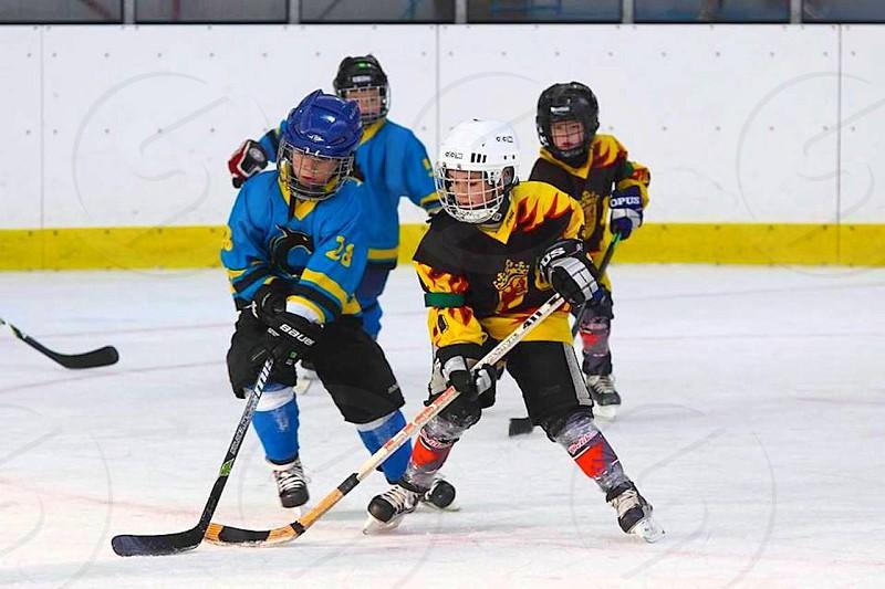 Hockey in Cernosice Czech Republic  photo