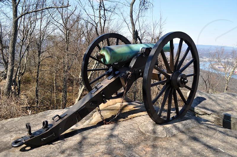 Mountaintop cannon photo