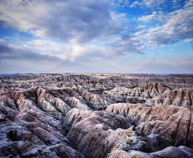 Badlands South Dakota National Park photo