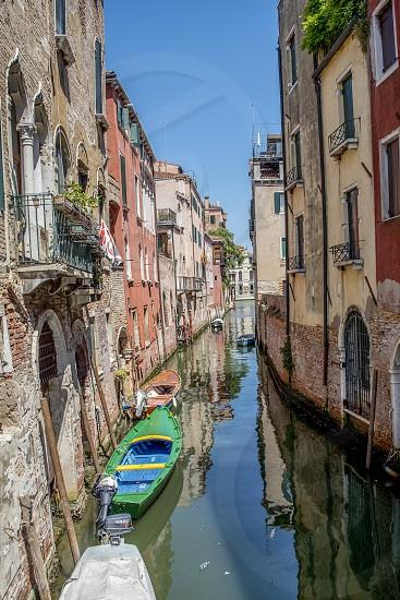 Venice alleyway  photo