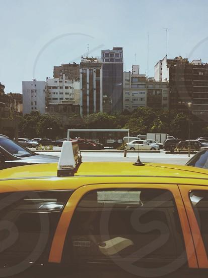 Buenos Aires cab photo