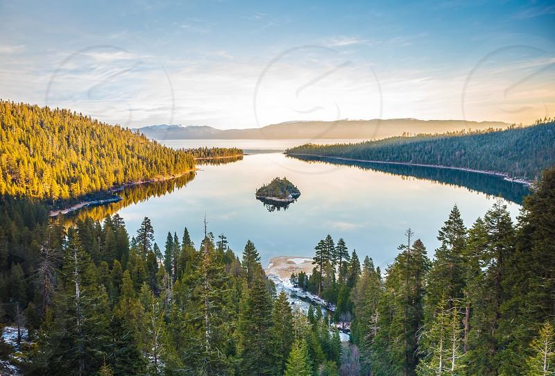 Lake Tahoe in California USA photo