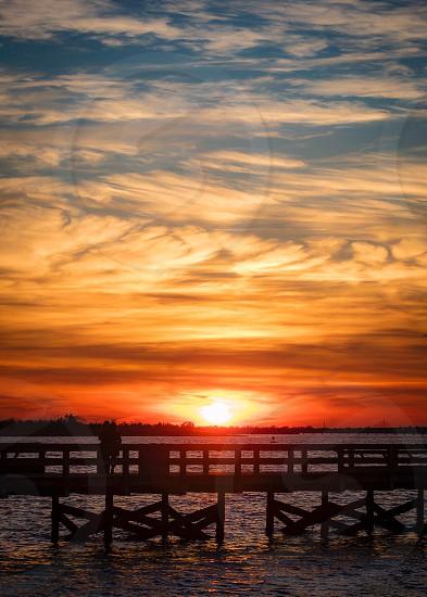 Vibrant sky photo