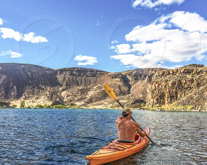 Kayaking outdoor fitness  photo