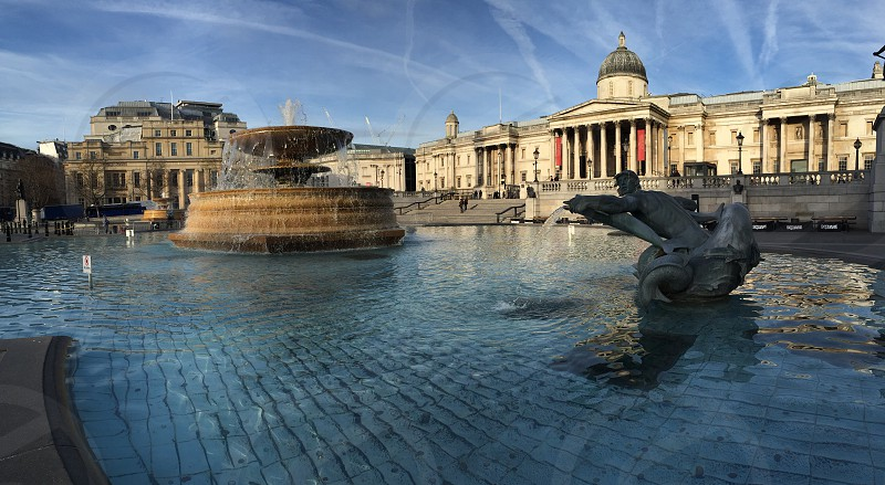 Trafalgar Square london  photo
