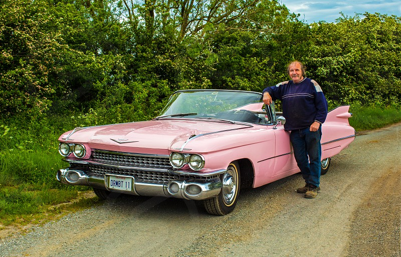 Pink Cadillac Roadtrip  photo