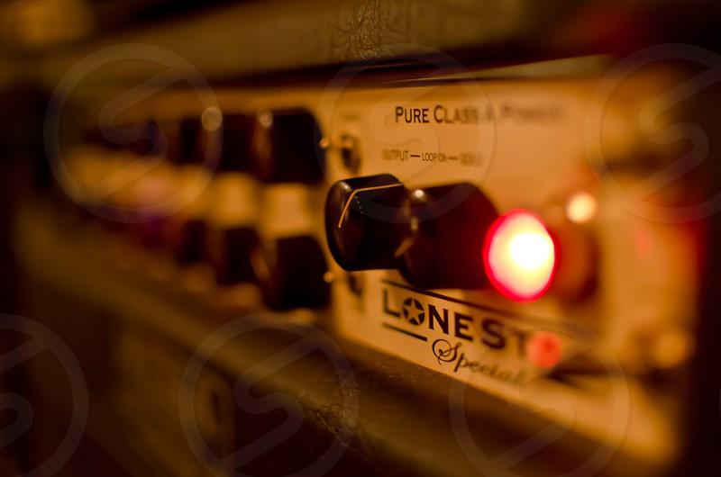 Loud Guitar Amp- In Close photo