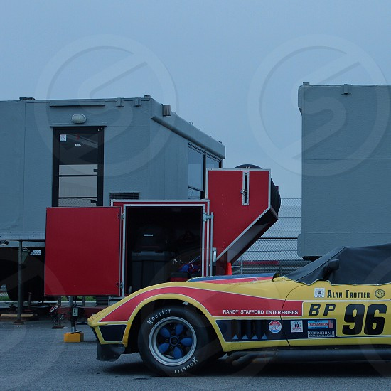 Chevrolet Corvette Race Car photo