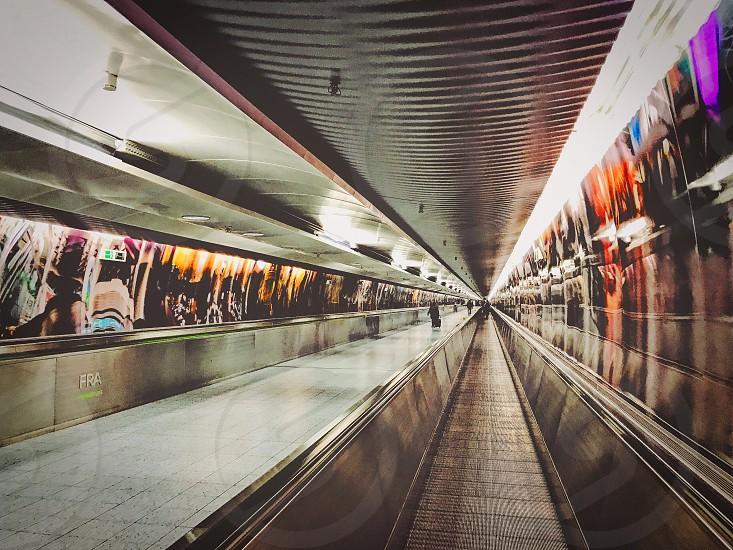 Airport transport transportation  passenger  Frankfurt  Germany  photo