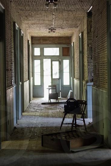 Forgotten hallways  photo