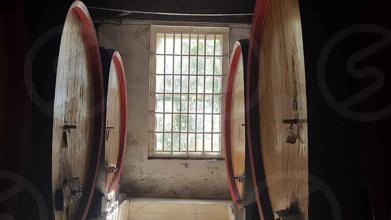 South Africa. Western Cape. Wine barrels photo