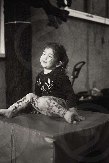 My baby cousin. I used 35 mm film. photo