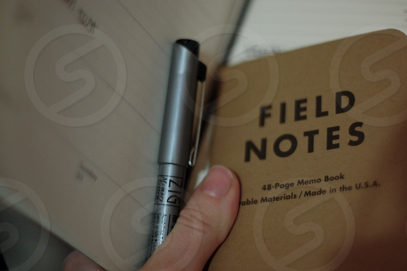 field notes photo