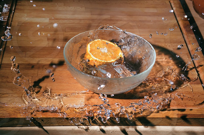 Orange Splash photo