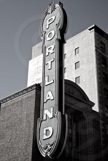 Portland theater  photo