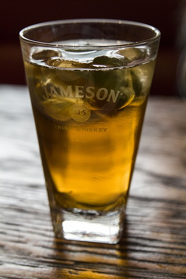 Glass of Whisky Jameson photo