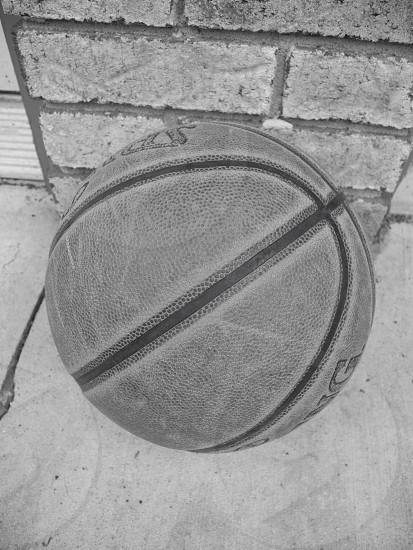 basketball on the brick photo