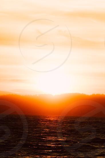 Horizon bright sun fairytale  photo