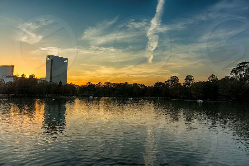 Hermann Park in Houston Texas photo