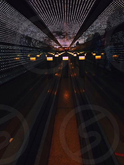 black bowling alley   photo
